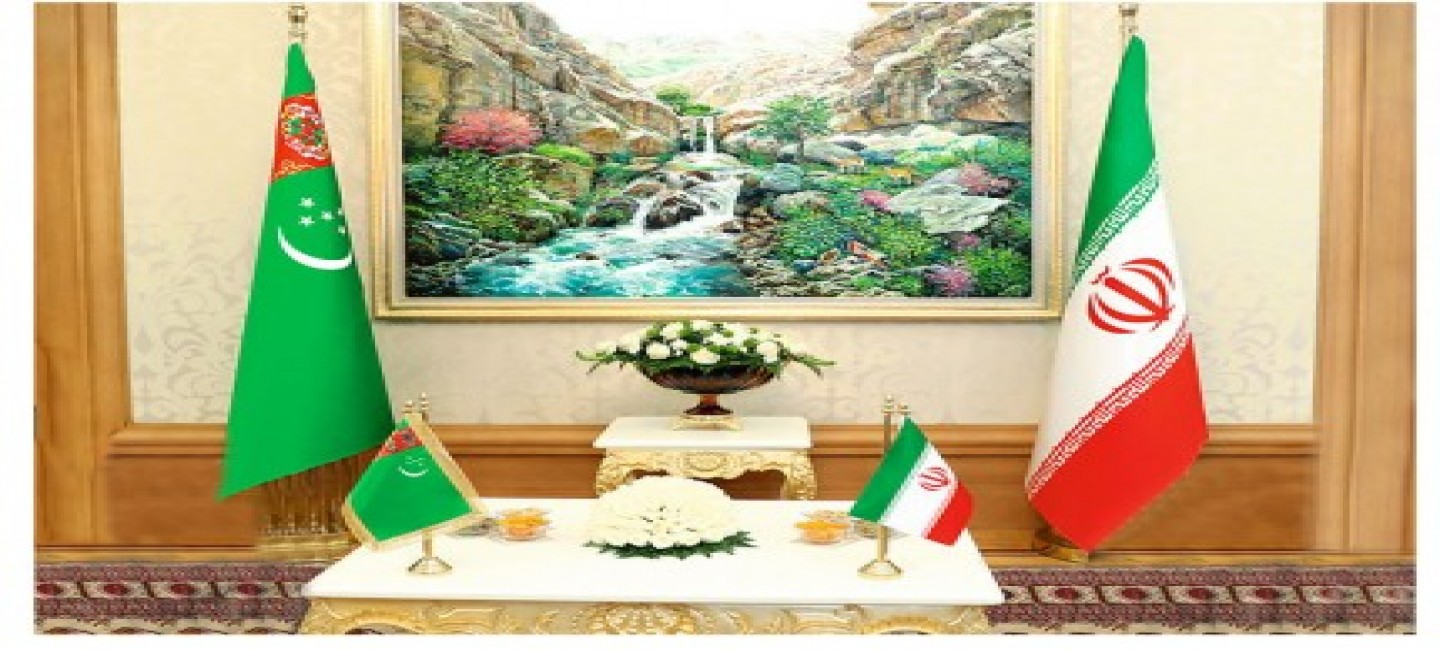 MEETING OF THE MINISTER OF FOREIGN AFFAIRS OF TURKMENISTAN WITH MINISTER OF ROADS AND URBAN DEVELOPMENT OF THE ISLAMIC REPUBLIC OF IRAN