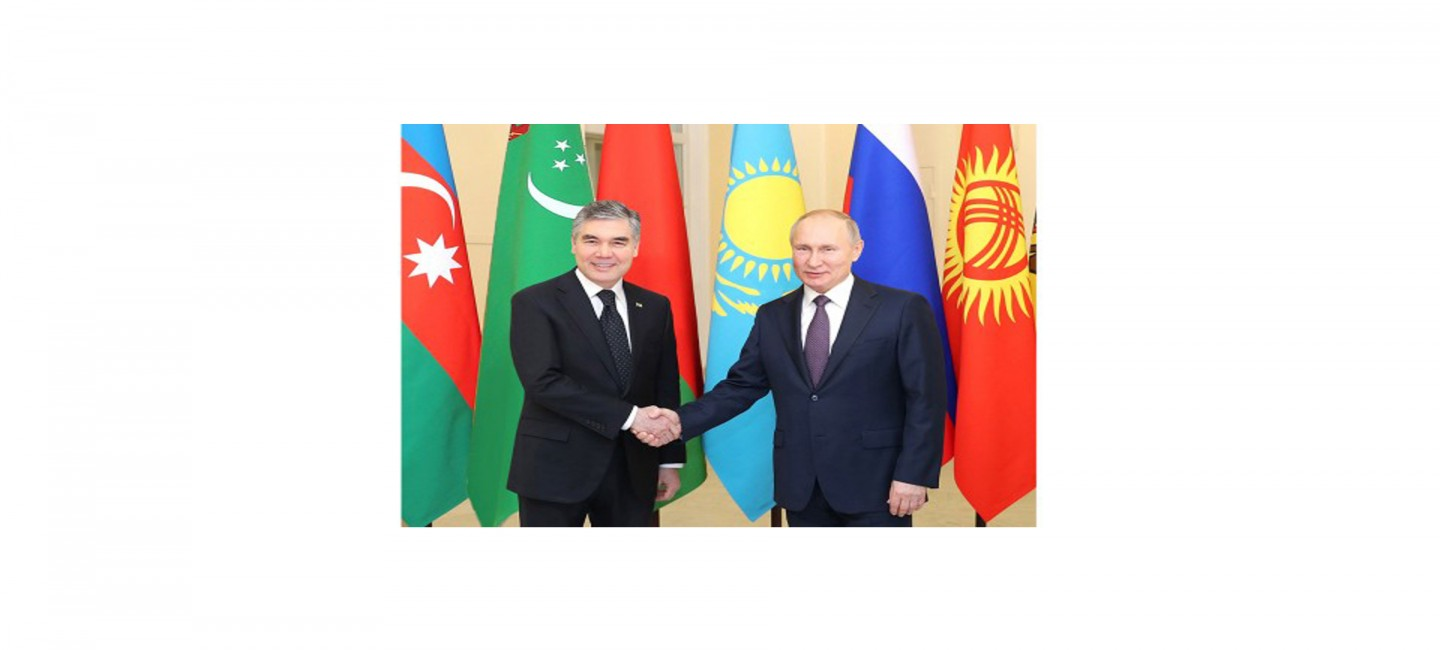 PRESIDENT OF TURKMENISTAN ATTENDED INFORMAL SUMMIT OF CIS LEADERS