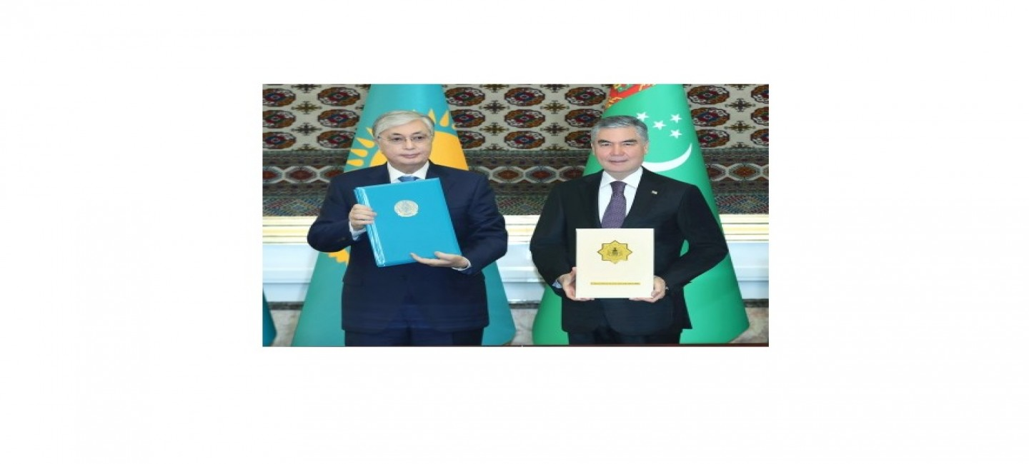 PRESIDENT OF TURKMENISTAN RECEIVED A GRATITUDE LETTER FROM THE PRESIDENT OF THE REPUBLIC OF KAZAKHSTAN