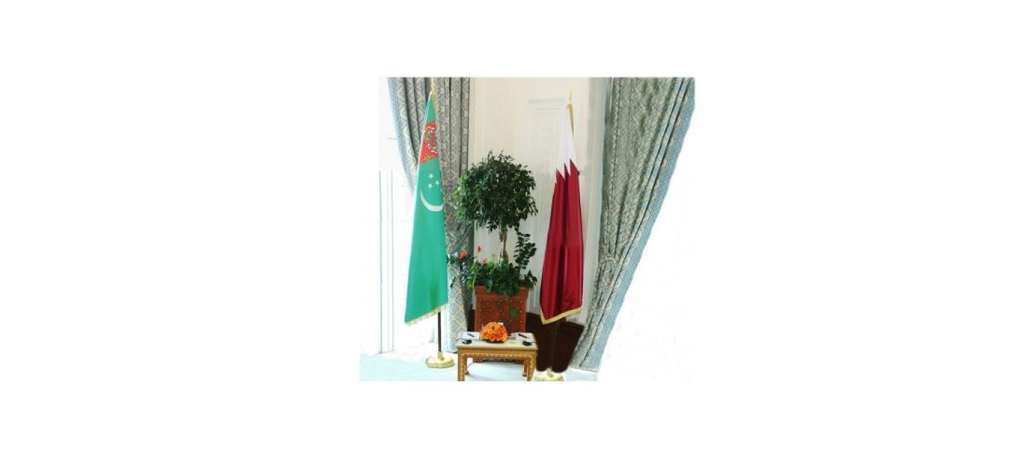 PRESIDENT OF TURKMENISTAN AND EMIR OF QATAR DISCUSSED BY PHONE FAVORABLE PROSPECTS OF PARTNERSHIP