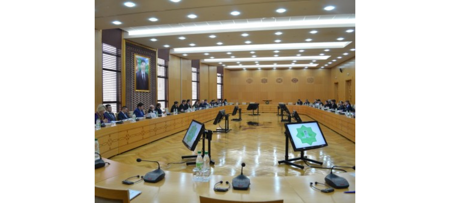 MULTILATERAL CONSULTATIONS ON THE DEVELOPMENT OF THE UN SPAS WERE HELD AT THE MFA OF TURKMENISTAN